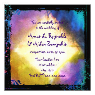 Wedding Plans Custom Invite