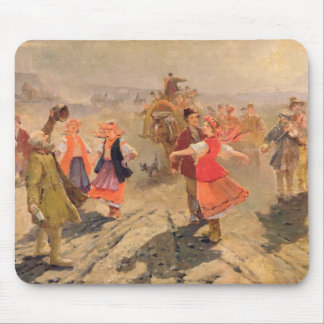 Wedding procession in the Orel region Mouse Mat