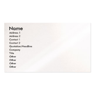 Wedding Profile Card Pack Of Standard Business Cards