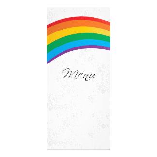 Wedding Rainbow Gay Customized Rack Card