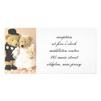 Wedding Reception Cards Custom Photo Card
