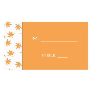 wedding reception dinner table # card for guest pack of standard business cards