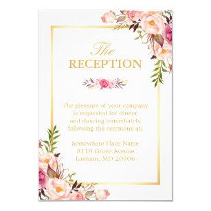 Wedding Reception Invitations Zazzle UK