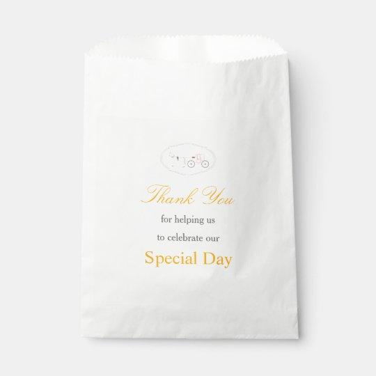 Wedding Reception Favour Bags