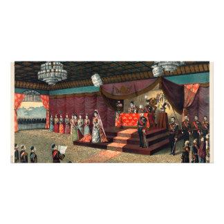 Wedding reception of Crown Prince Yoshihito Customized Photo Card