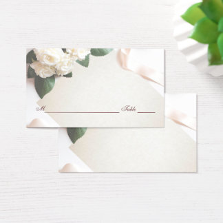 Wedding Reception Table Guest Seating Place Card
