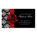 Wedding Red Rose Damask Appointment