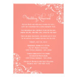 Wedding Rehearsal and Dinner Invitations | Coral