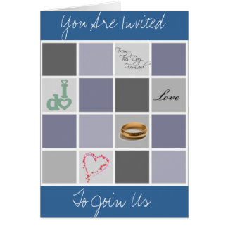 Wedding Rehearsal Dinner Invitations Greeting Card
