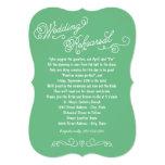 Wedding Rehearsal Dinner | Practice Makes Perfect 13 Cm X 18 Cm Invitation Card