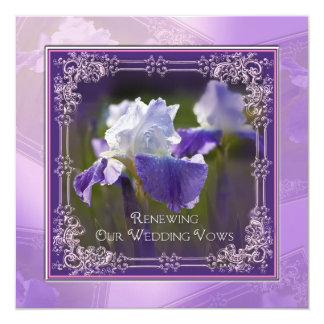 Wedding Renewal - Invitations - Iris