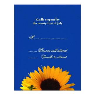 Wedding Response Card Personalized Invitation