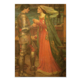 Wedding Response Card, Tristan Isolde, Waterhouse Card