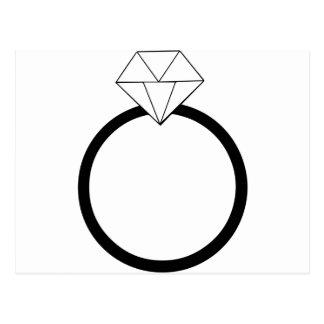 Wedding Ring Postcard