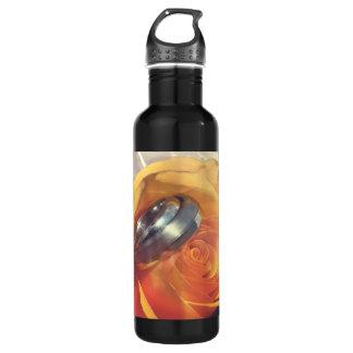 Wedding rings 710 ml water bottle