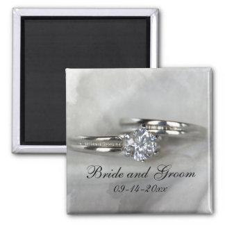Wedding Rings Magnet