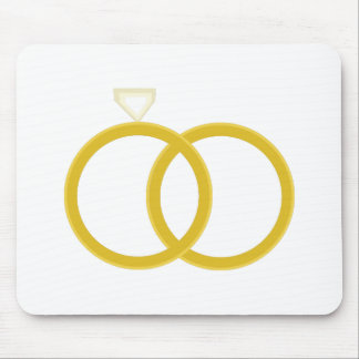 Wedding Rings Mouse Pads