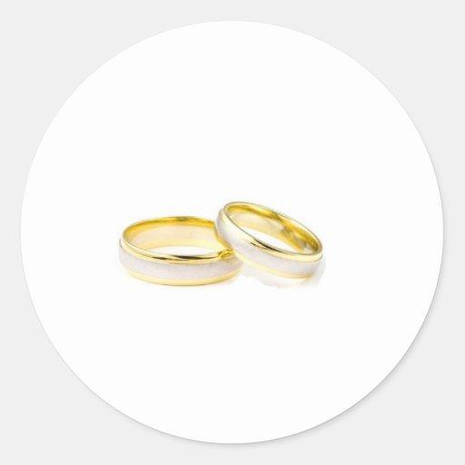 Wedding rings stickers