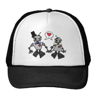 Wedding robots cap