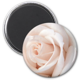 Wedding Rose 6 Cm Round Magnet