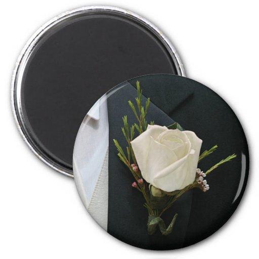 Wedding Rose Magnets
