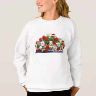 Wedding Roses Bouquet Sweatshirt