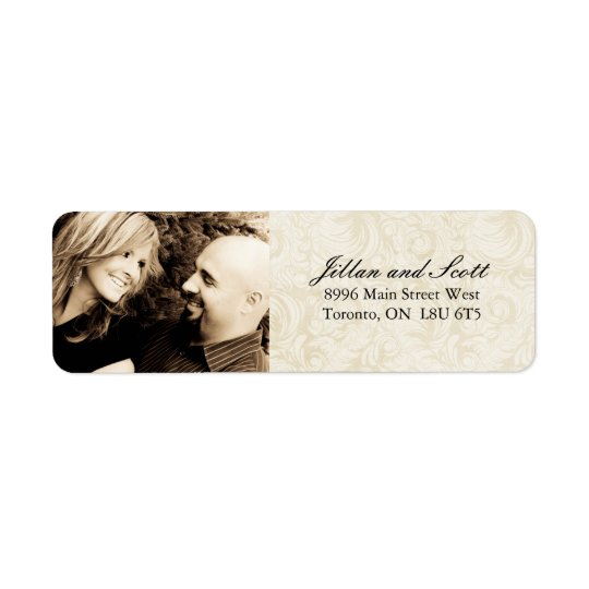 Wedding RSVP Address Labels