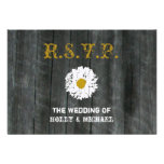 Wedding RSVP Card - Barnwood & Daisy Personalised Announcements