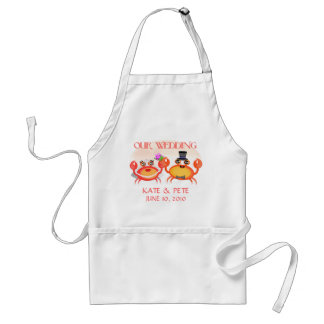 Wedding Save The Date Announcement Apron