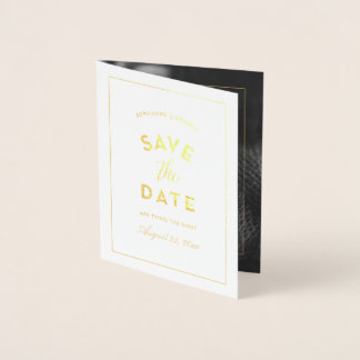 Wedding Save the Date Announcement Photo