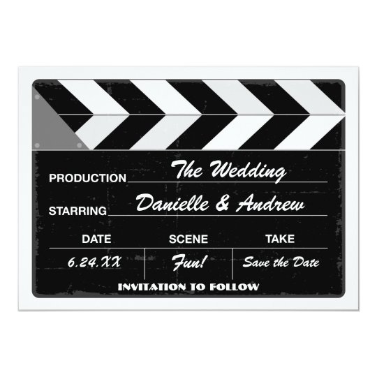 Wedding Save the Date Card | Movie Clap