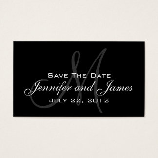 Wedding Save the Date Website Card