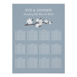 Wedding Seating Chart | Floral Branch