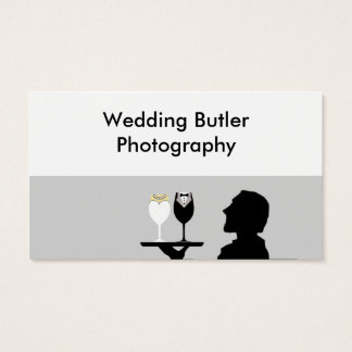 Wedding Service Business Card