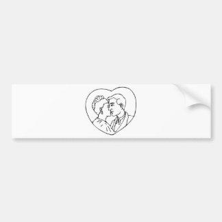 Wedding Shower 21 Bumper Sticker