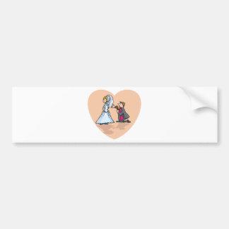 Wedding Shower 9 Bumper Sticker
