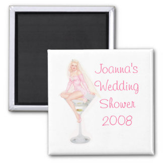 Wedding Shower Favor Magnet