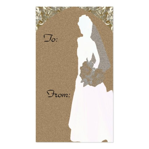 gold elegance bridal shower gift tag this gift tag is part of the gold ...