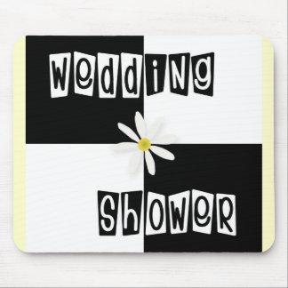Wedding Shower Mouse Pad