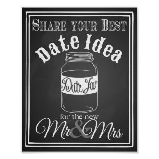 "Wedding sign ""Date jar guest book"" sign chalkboard"