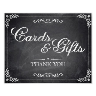Wedding signs - chalkboard - Cards & Gifts -