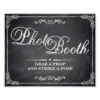 Wedding signs - chalkboard - Photo Booth -