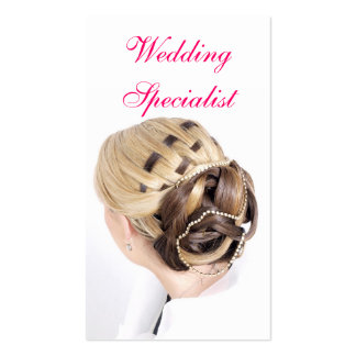 Wedding Specialist Pack Of Standard Business Cards
