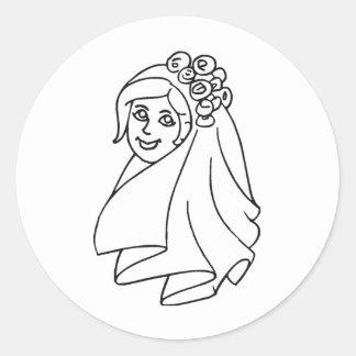 Wedding Stamps 18 Sticker
