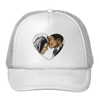 Wedding Stamps 6 Trucker Hat