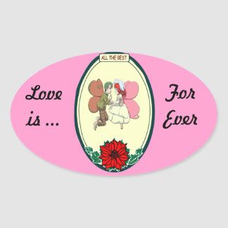 Wedding stickers - Fairy Wedding