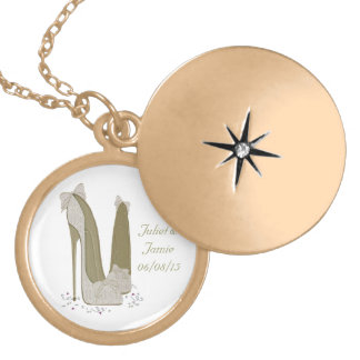 Wedding Stiletto Shoes Art Gifts Necklaces