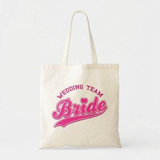WEDDING TEAM BRIDE - bag