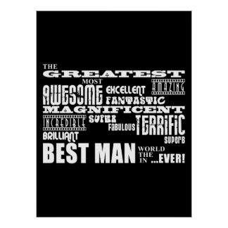 Wedding Thank You Best Men : Greatest Best Man Poster