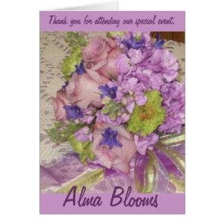 Wedding Thank You Greeting Card
